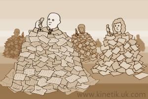 04 Piles of Paperwork