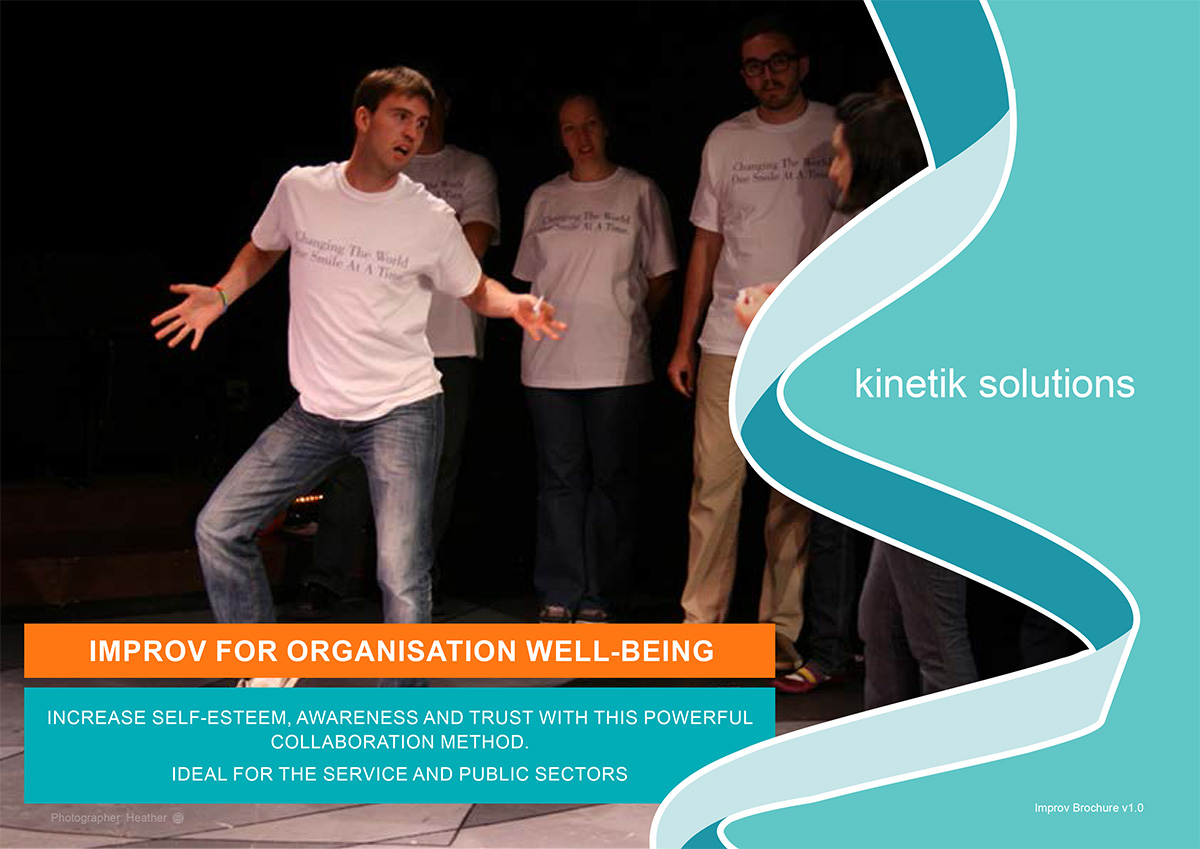 People in the Kinetik Improvisation for Wellbeing Course