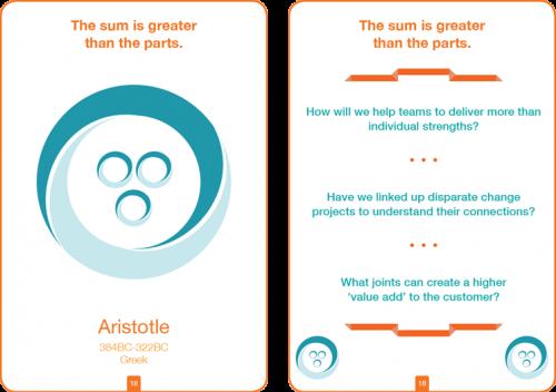 Aristotle - Philosophy Card