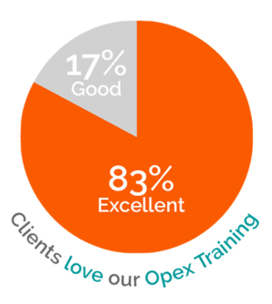Clients love our OpEx training